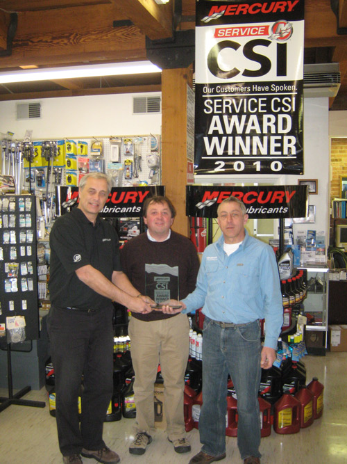 PowerHouse Marine winss CSI award