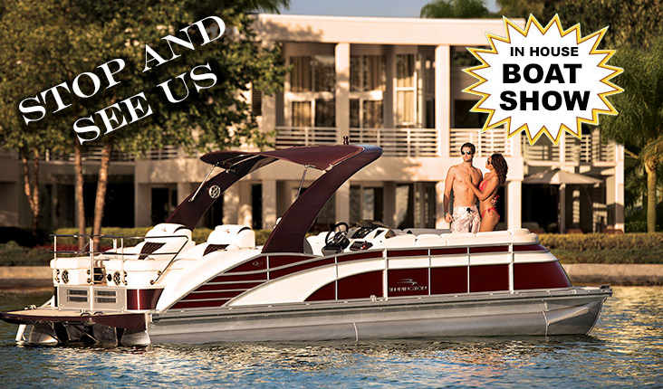 Stop in and see our in house Boat show