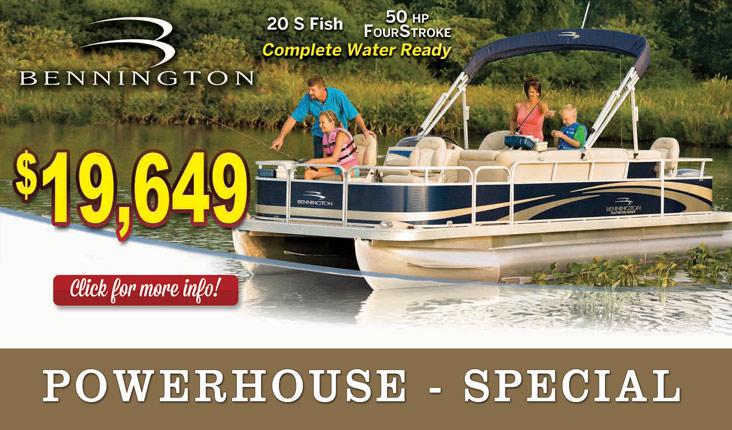 Special Bennington Pontoon Powerhouse Marine LaCrosse WI