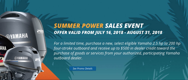 Yamaha Motors Summer Savings Powerhouse Marine LaCrosse WI