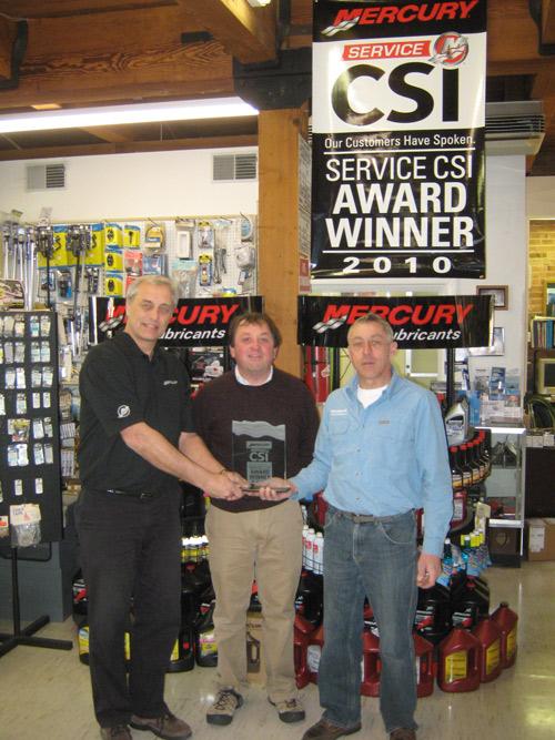 PowerHouse Marine winss CSI award